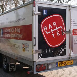 Rijles BE, Aanhanger BE rijbewijs, rijbewijs BE in 1 dag, rijschool Harderwijk en Zeewolde